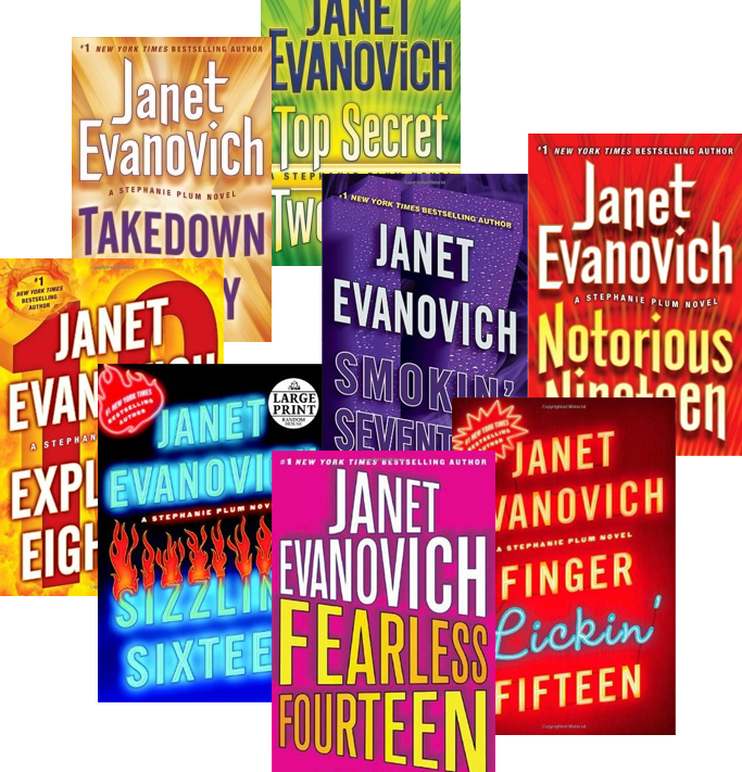 Book Review: Janet Evanovich's #14-21 of Stephanie Plum