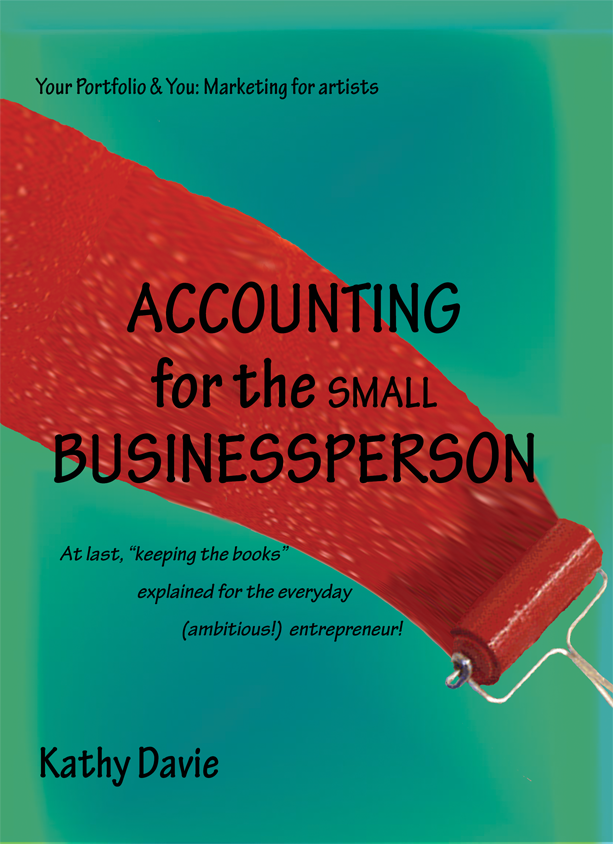 Pinterest pin for Accounting for the SMALL Businessperson - all about keeping the books