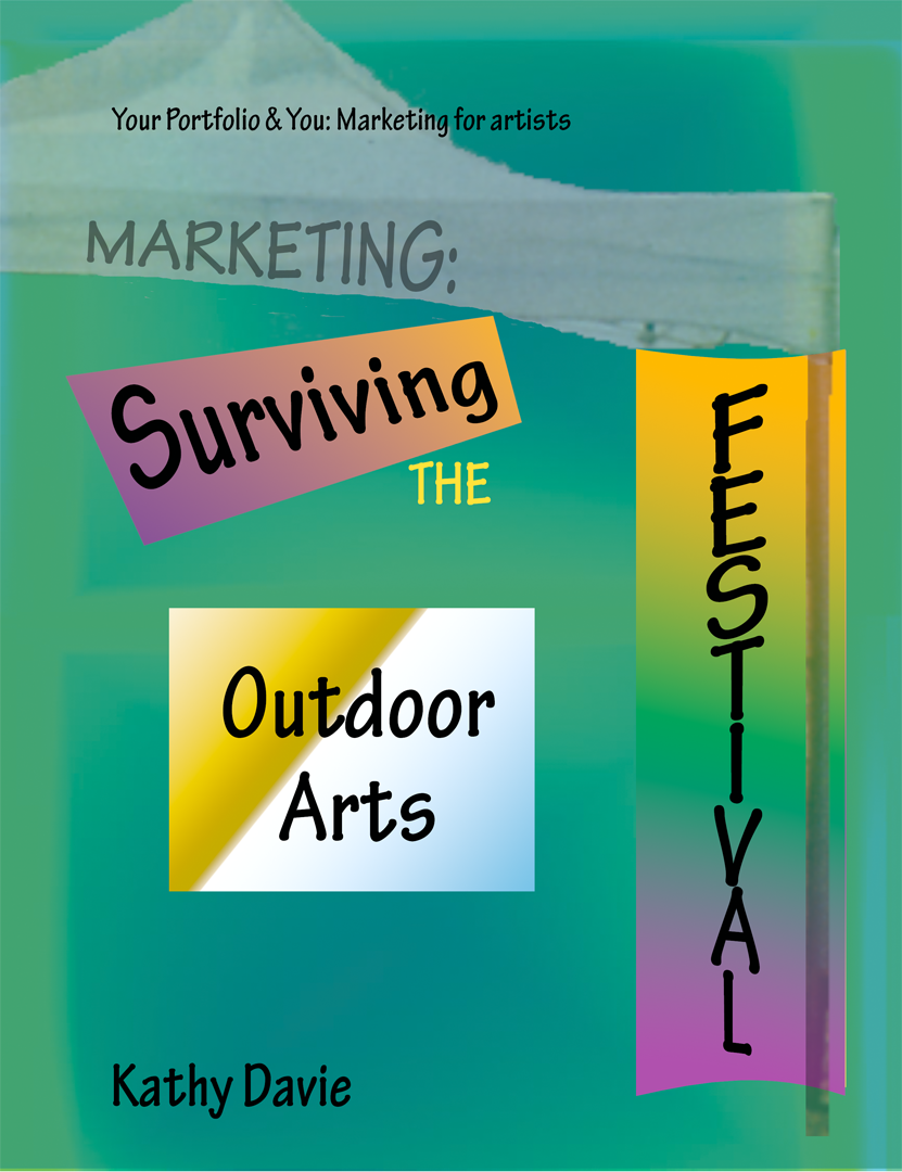 Pinterest pin for Surviving the Outdoor Arts Festival