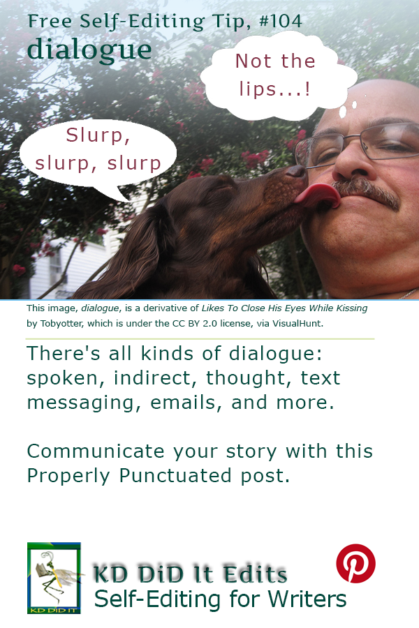 Properly Punctuated: Dialogue