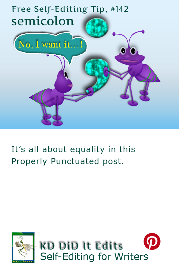 Pinterest pin for Semicolon