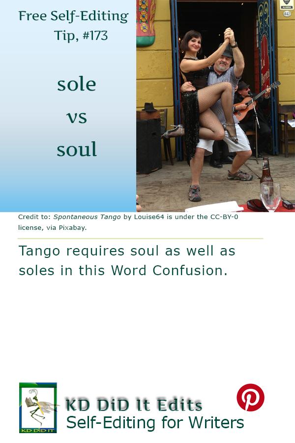 Pinterest pin for Sole versus Soul