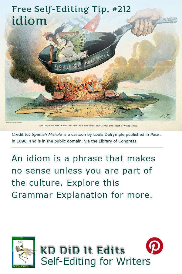 Grammar: Idiom
