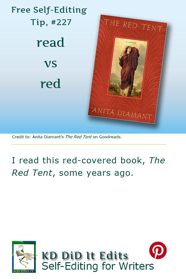 Pinterest pin for Read versus Red