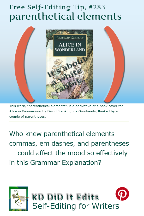 Pinterest pin for Parenthetical Elements