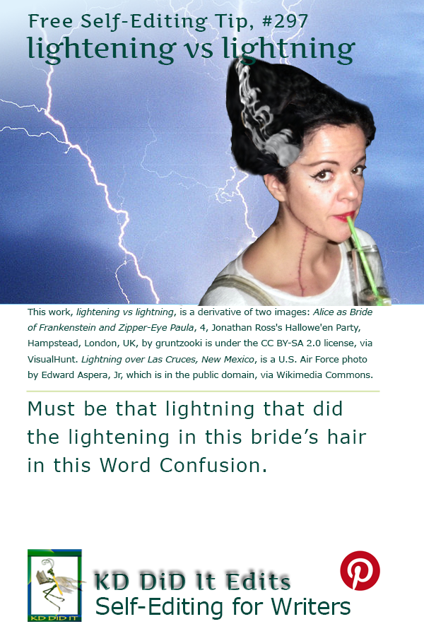 Pinterest pin for Lightening versus Lightning