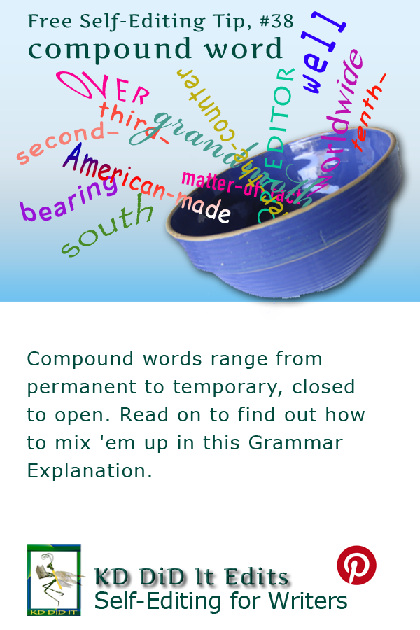 Pinterest pin for Compound Word