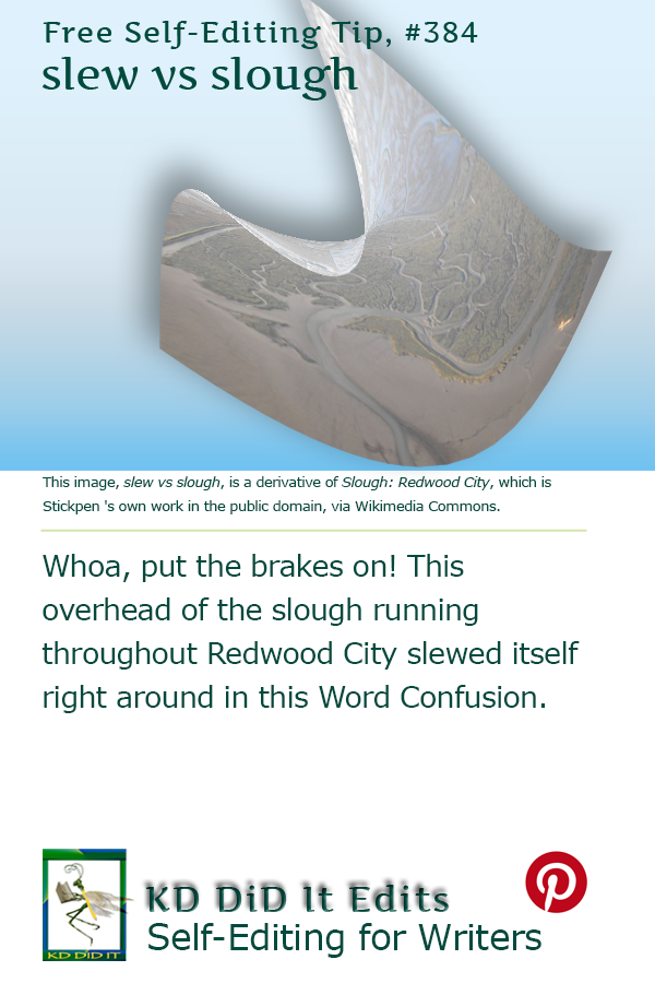 Pinterest pin for Slew versus Slough