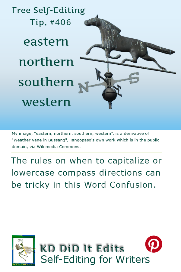 Pinterest pin for Eastern, Northern, Southern, Western
