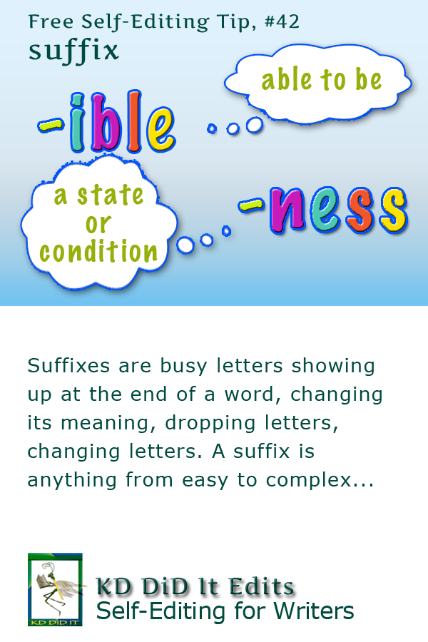 Pinterest pin for Suffix