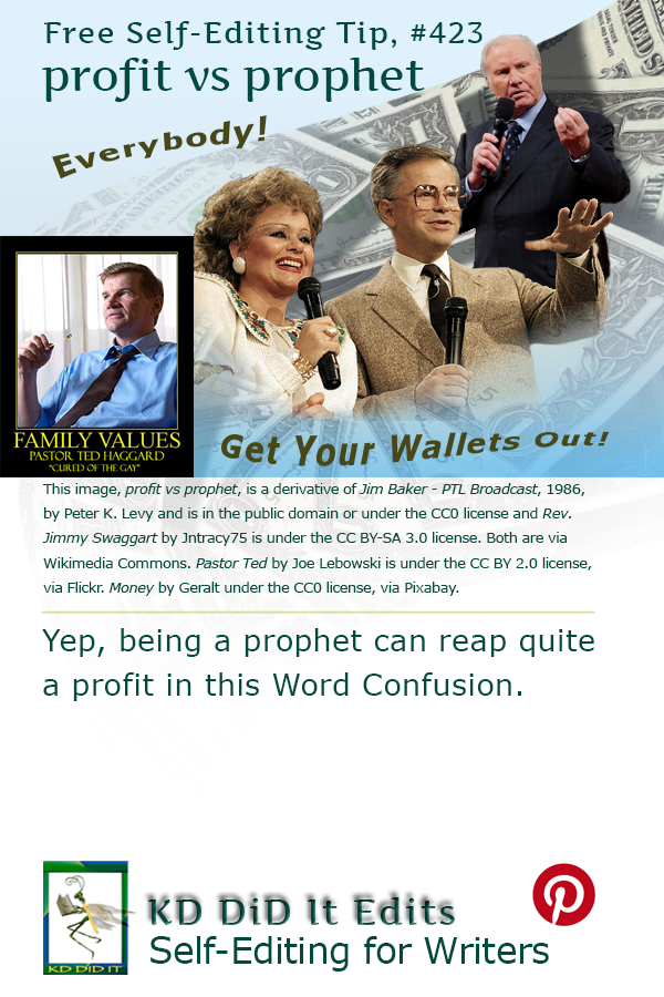 Pinterest pin for Profit versus Prophet