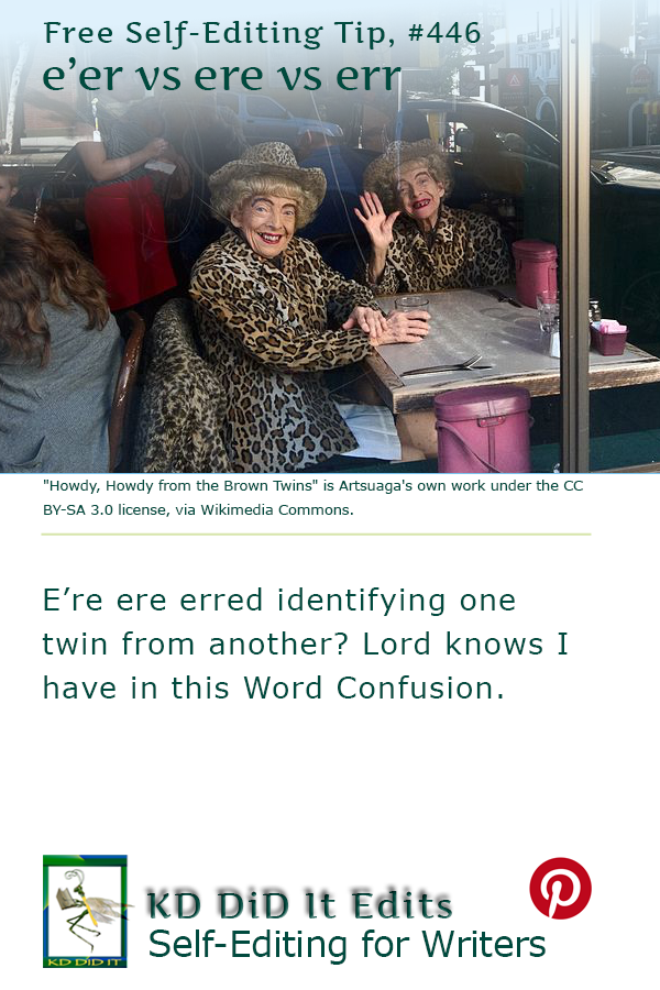Pinterest pin for E'er vs Ere vs Err
