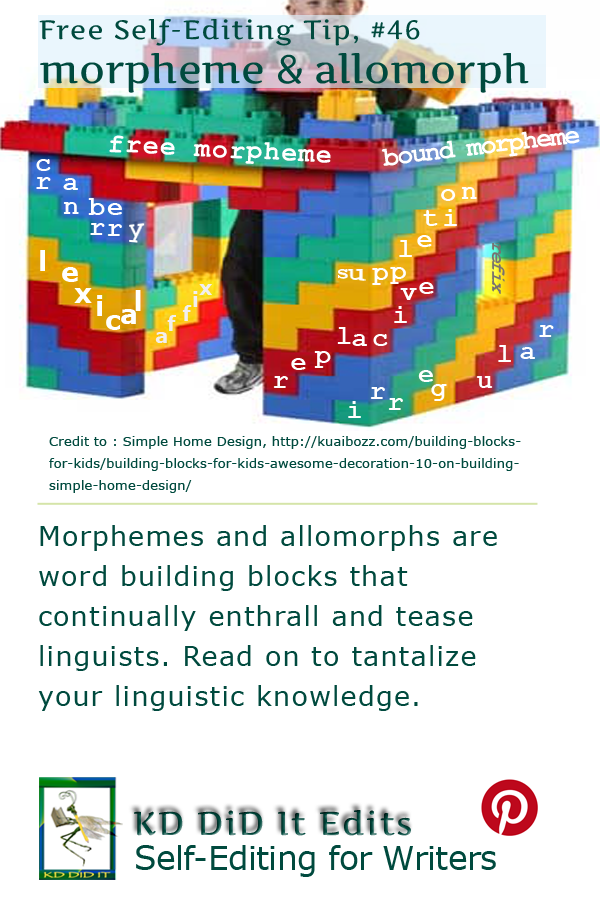Pinterest pin for morphemes and allomorphs