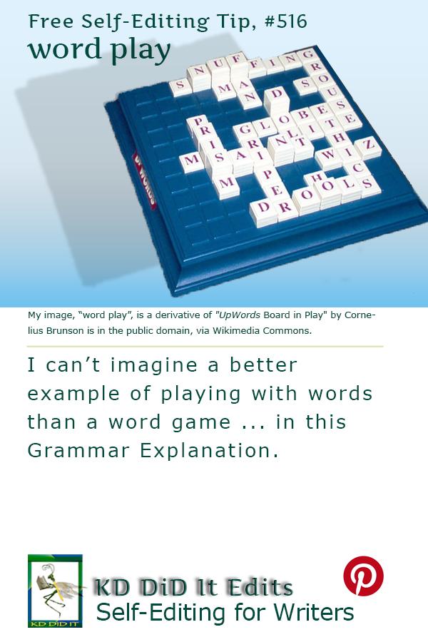 Grammar: Word Play