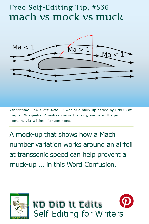Word Confusion: Mach vs Mock vs Muck