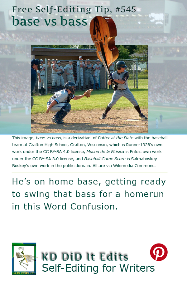 Word Confusion: Base versus Bass