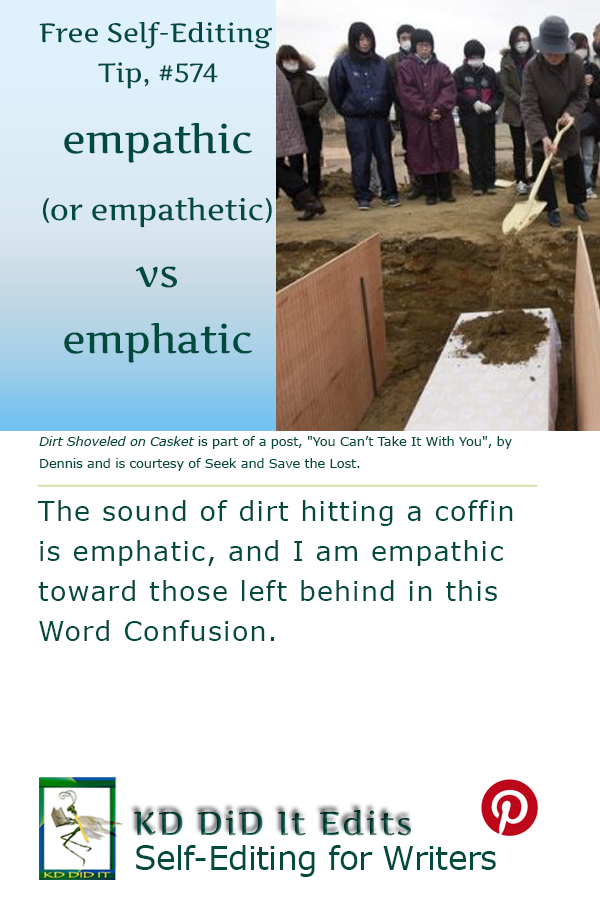Word Confusion: Empathetic / Empathic versus Emphatic