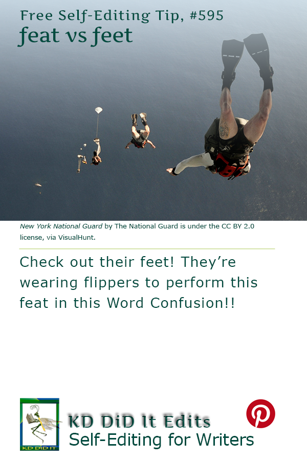 Word Confusion: Feat versus Feet