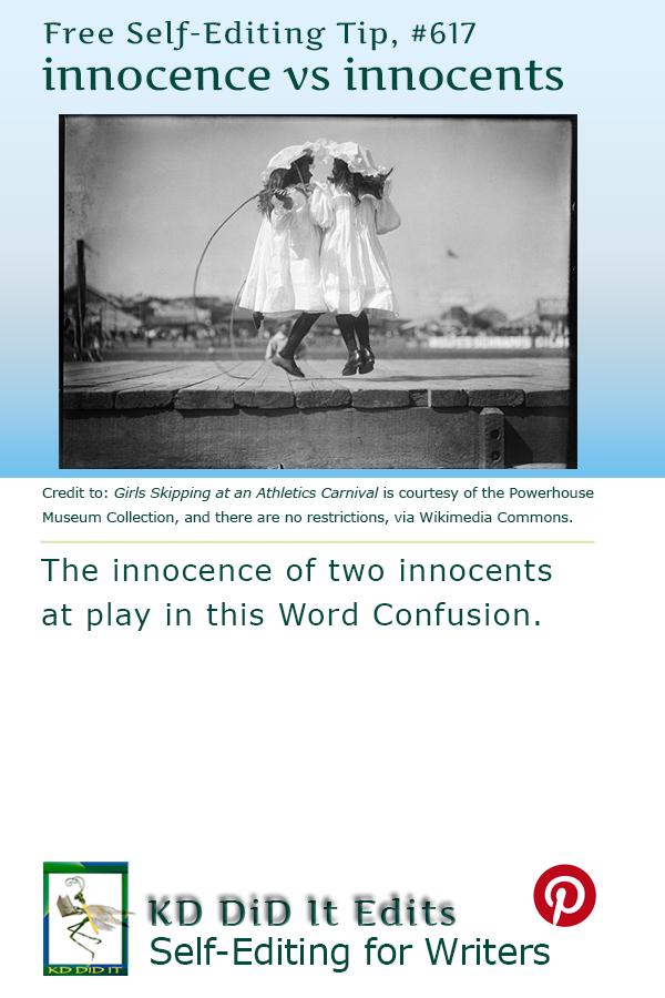 Word Confusion: Innocence versus Innocents