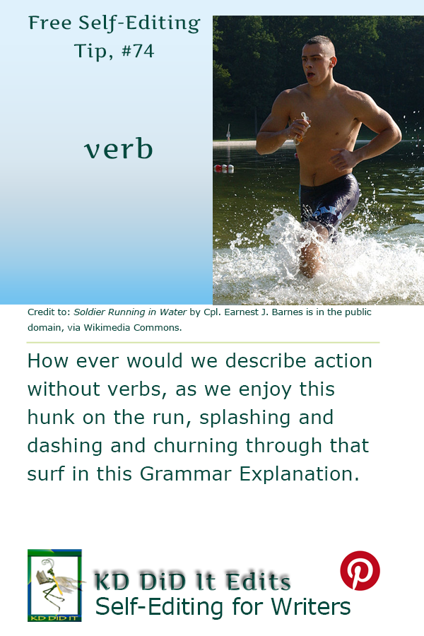 Pinterest pin for Verbs