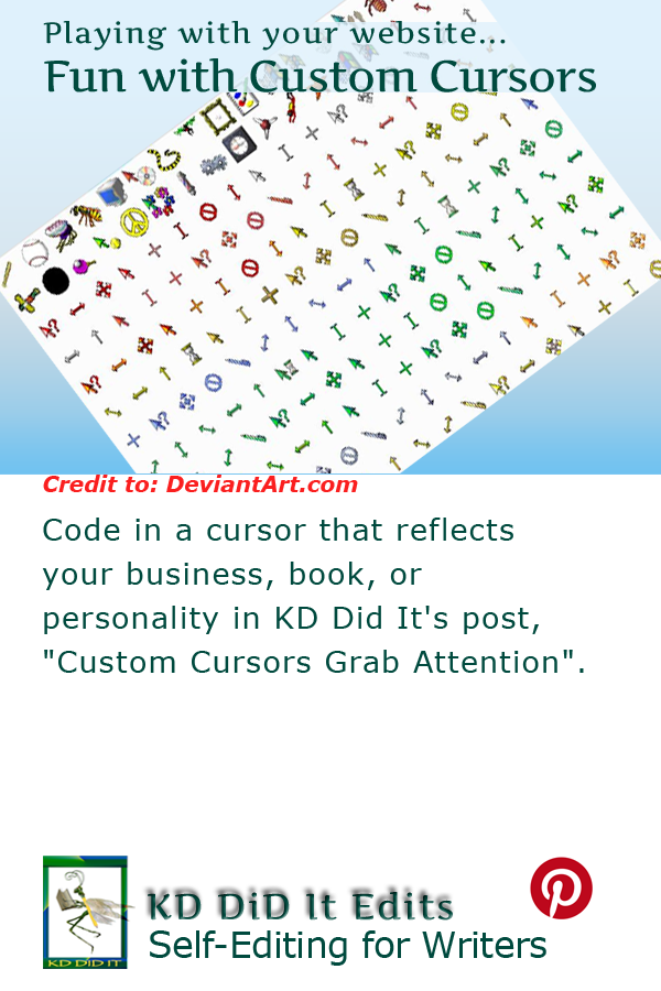 Pinterest pin for />Custom Cursors Grab Attention<