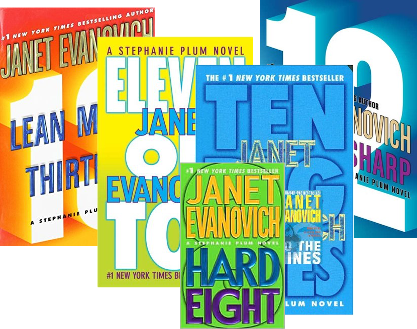 Book Reviews: Janet Evanovich's Stephanie Plum #8 – #13