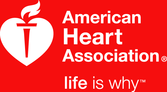 The logo for the American Heart Association