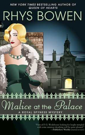 Book Review: Malice at the Palace by Rhys Bowen