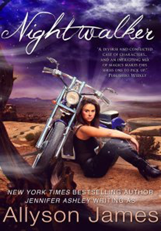 Book Review: Nightwalker by  Allyson James