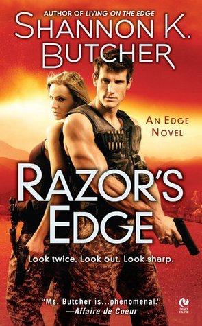 Book Review: Shannon K. Butcher's Razor's Edge