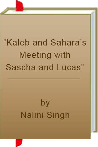 "Book Review: ""Kaleb and Sahara's Meeting with Sascha and Lucas"" by Nalini Singh"