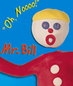 Mr. Bill figure saying oh no