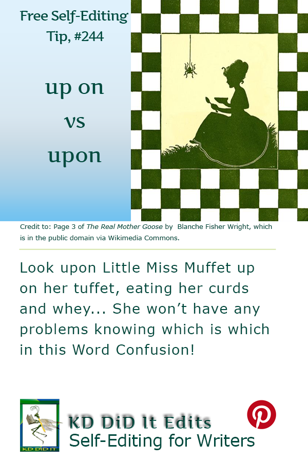 Word Confusion: Up On versus Upon