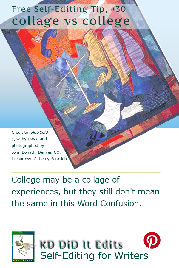 Word Confusion: Collage versus College
