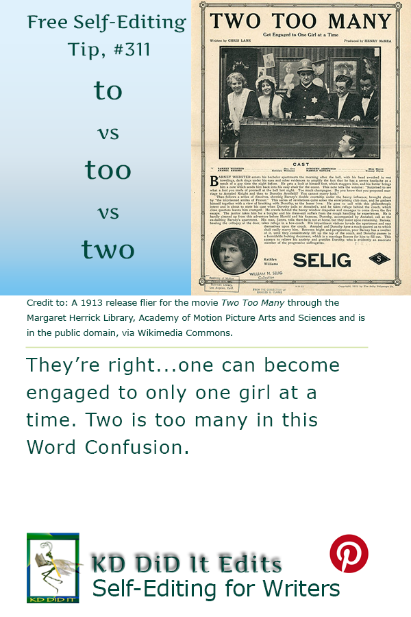Word Confusion: To vs Too vs Two