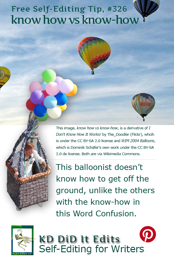 Pinterest pin for Know How versus know-how