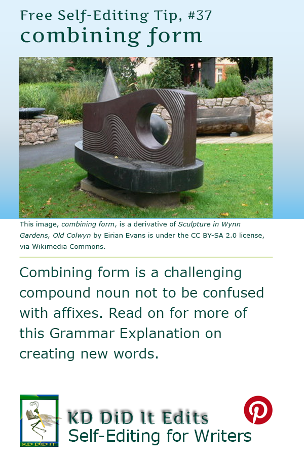 Pinterest pin for combining form