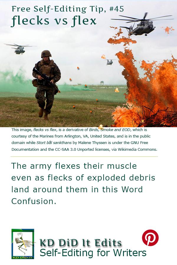 Word Confusion: Flecks versus Flex