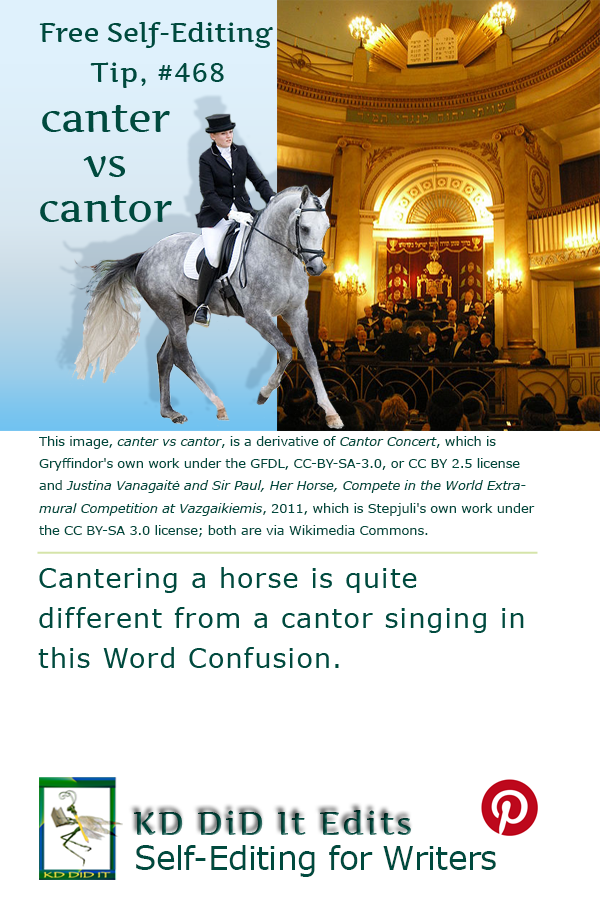 Pinterest pin for Canter versus Cantor