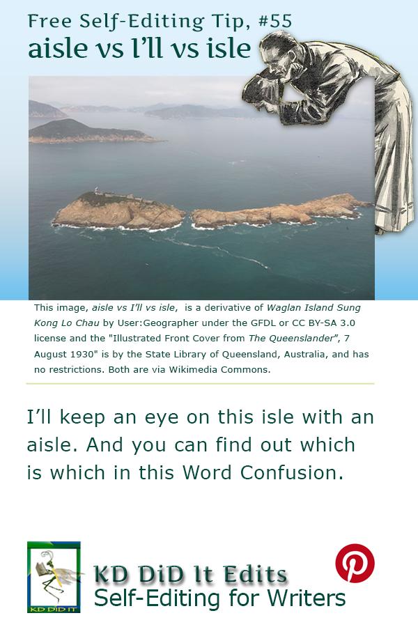 Word Confusion: Aisle vs I'll vs Isle