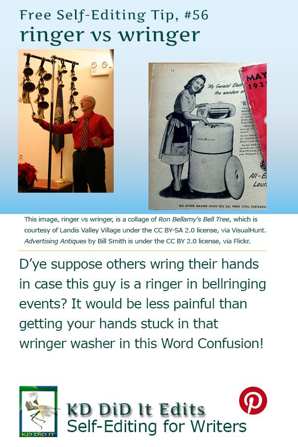 Word Confusion: Ringer versus Wringer