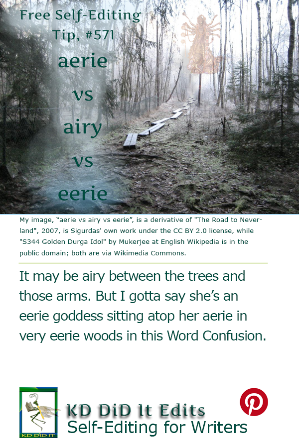 Word Confusion: Aerie vs Airy vs Eerie