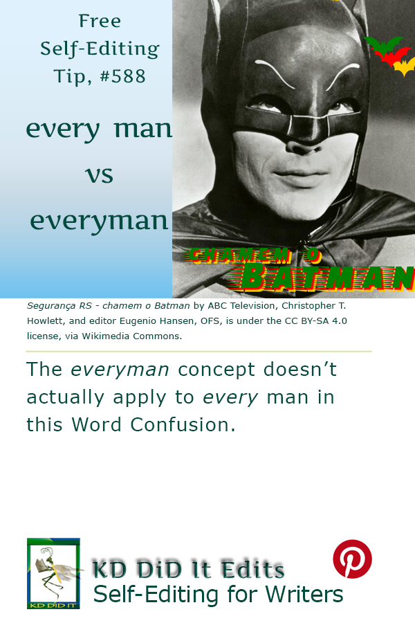Pinterest pin for Every Man versus Everyman