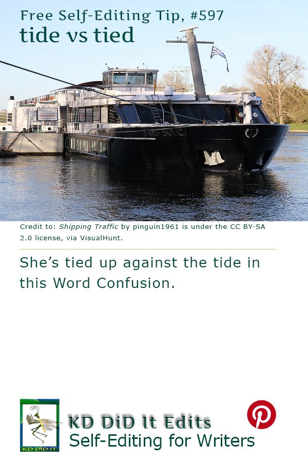 Word Confusion: Tide versus Tied