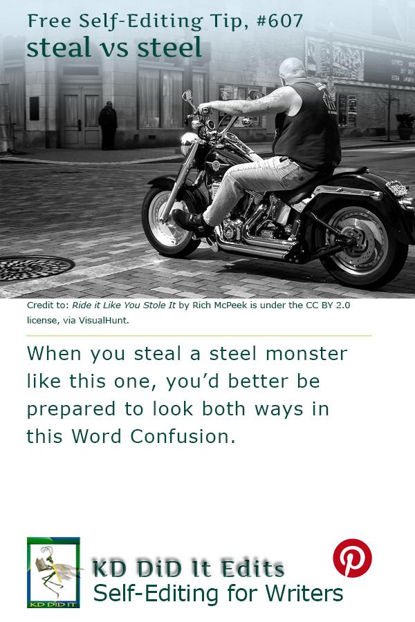 Word Confusion: Steal versus Steel