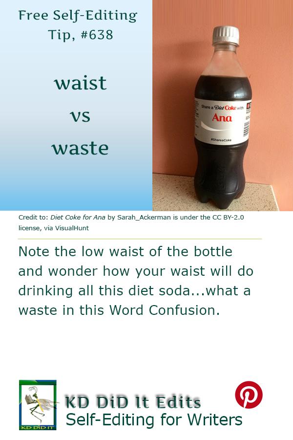 Word Confusion: Waist versus Waste