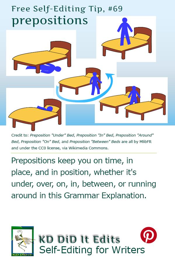 Pinterest pin for Prepositions