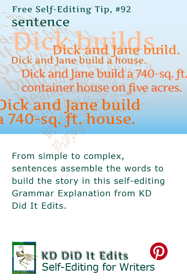 Grammar: The Sentence
