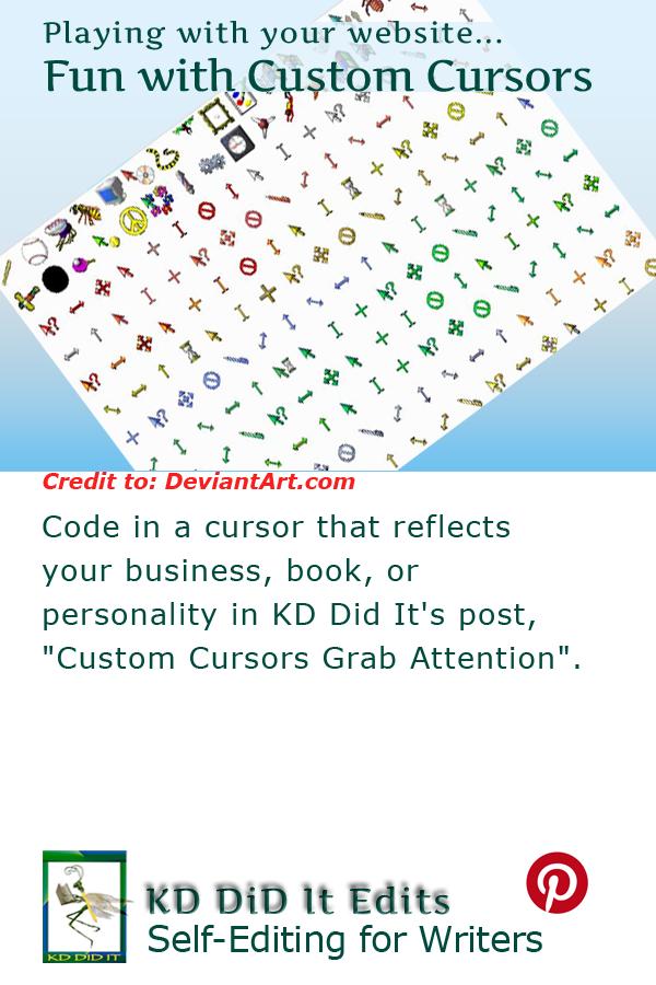 Pinterest pin for />Custom Cursors Grab Attention<